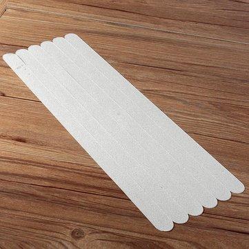 38x2cm 6Pcs PVC Bathroom Ceramic Tile Floor Anti Slip Stickers Bathtub Safety Tape Mat