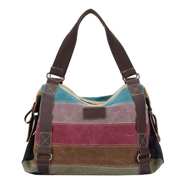 Women Vintage Canvas Handbags Tribal Shoulder Bags