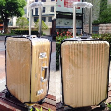 Transparent Protective Luggage Cover