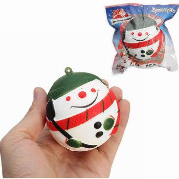 Squishy Snowman Christmas Santa