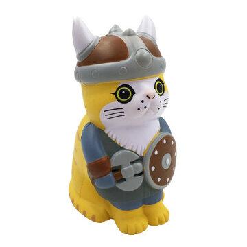 Viking Pirate Cat Squishy