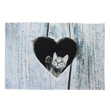 Door Mat Cartoon Cute Cat Kitchen Rugs