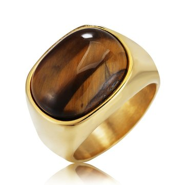 Tiger Eye Stone Rings