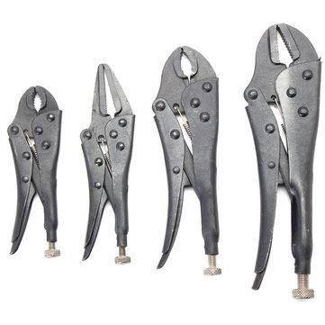 4 Stücke Schwärzung Wärmebehandlung Set Pinzette Locking Zangen