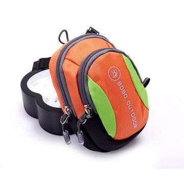 Multifunctional Men Women Crossbody Bag Nylon Waterproof Running Arm Bag