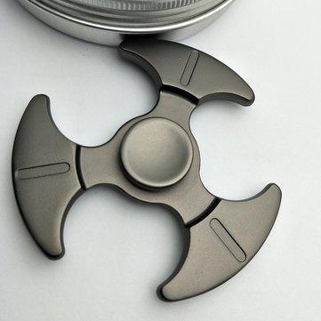 Zinc Tri Rotating Fidget Hand Spinner ADHD Austim Fingertips Fingers Gyro Reduce Stress Toys Gift