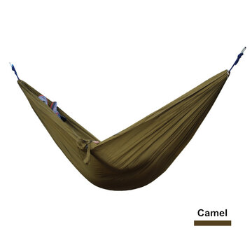 Ipree Portable 270x140cm Hammock Camping 210t Nylon Double Hanging Swing Bed Load 250kg Newchic
