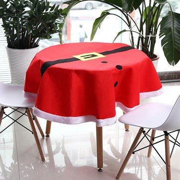 Christmas Suit Table Cloth Tableware Mat Table Runner Tablecloth Desk Cover