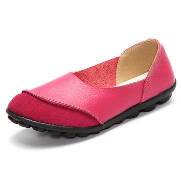 Chaussures Plates Décontractées Confortables Souples De Grande Taille Couleur Combinaison Modèle Ballerine