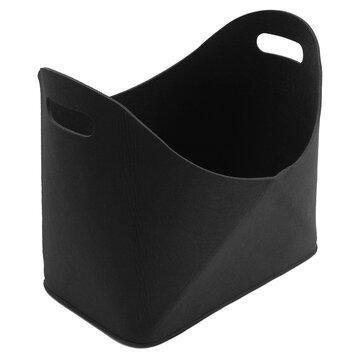 Car Storage Bag Folding Storage Basket  Fire Wood Holder Storage Fireside Bin