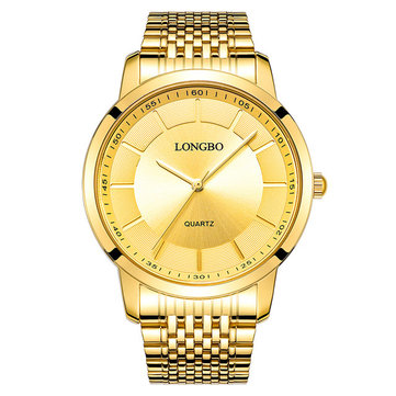LONGBO Stainless Steel Couple Watches