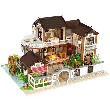 Bricolage Ancient Town Luxury Villa Maison de poupée