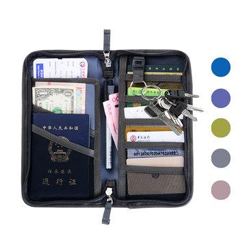 Oxford Passport Holder 6 Colors Travel Card Organizer