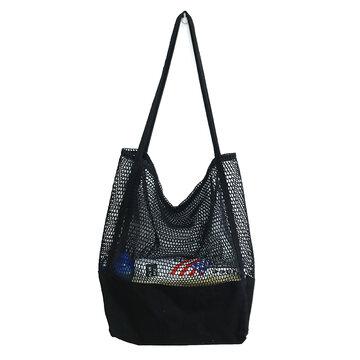 KCASA KC-0781 Large Shopping Storage Bag Durable Canvas Travel Beach Tote Shoulder Bag