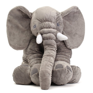 Soft Jumbo Elephant Plush Doll