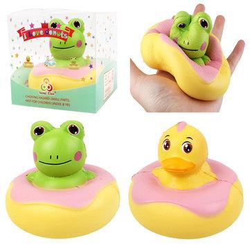 Kawaii Frog Duck Squishy