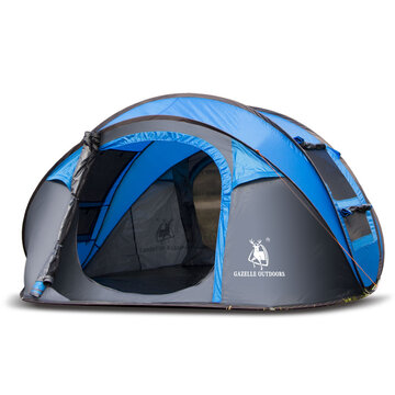 Outdoor 3-4 Persons Camping Tent