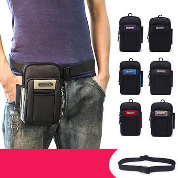 Multifunctional 6.5in Mini Outdoor Cellphone Waist Bag