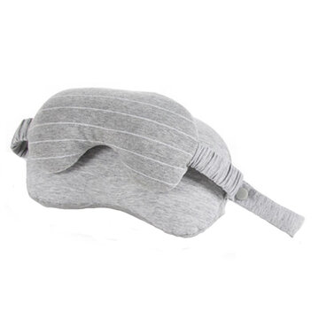 2-in-1 Sleeping Eye Mask  Neck Support Pillow