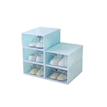 Foldable Clear Plastic Shoe Organizer