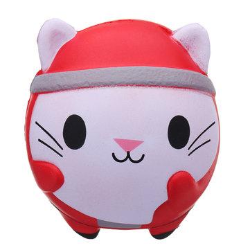Kawaii Christmas Cat Squishy