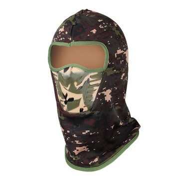Camouflage Mask Unisex Balaclavas Cheek Neck CS Hat