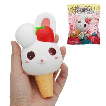 Kawaii Rabbit Ice Cream Squishy