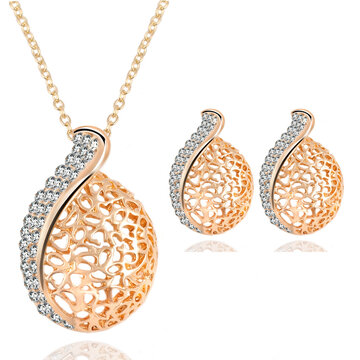 Waterdrop Pendant Jewelry Set