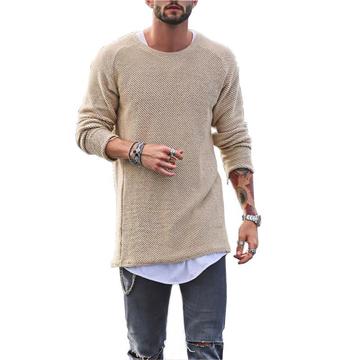 Uomo Casual T-shirt a Maglia