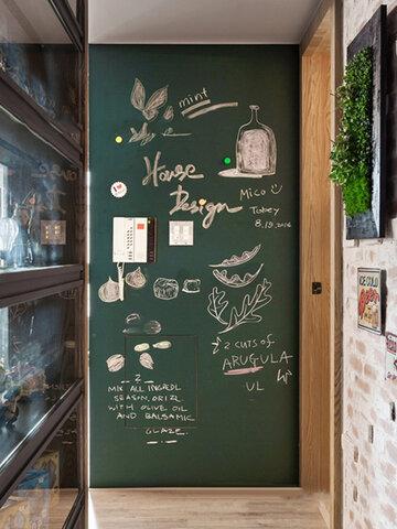 Umweltfreundlich Soft Tafelaufkleber Green Board