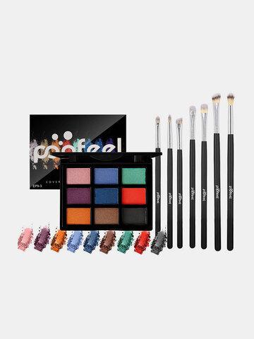 Eyeshadow Palette Brush Makeup Set