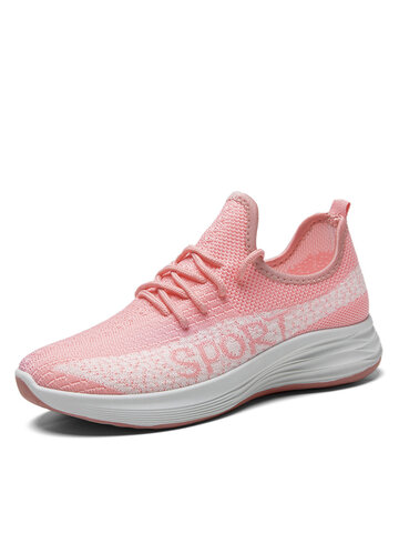 Wide Fit Round Toe Running Sneakers