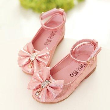 أحذية الفتيات Bowknot أنيقة مسطحة