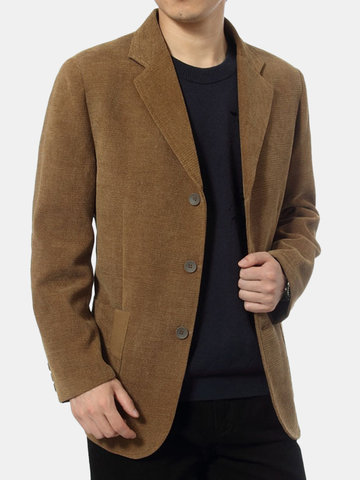 Cappotto da giacca Business Single Breasted Sottile