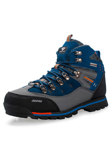Men Outdoor Leather Hiking Boots