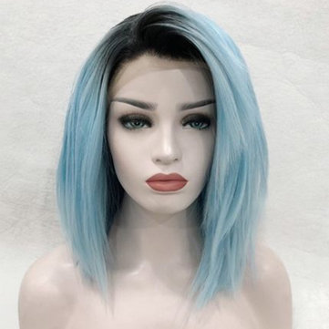14 Inch Front Lace Synthetic Wigs