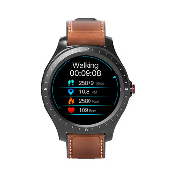 Touch Screen Leather Belt Watch