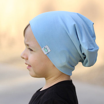 Boys Girls Winter Cotton Warm Bonnet Beanie Hat