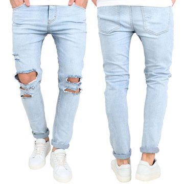30-36 Fashion Holes Jeans