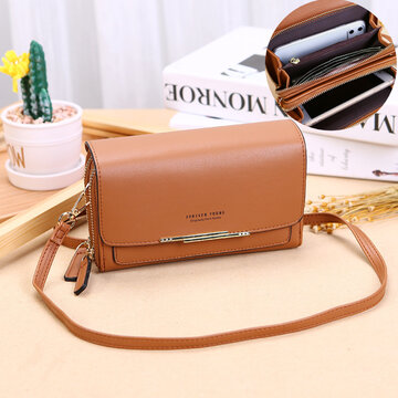 Multifunction Multi-Layers Card Case Crossbody Bag Phone Bag