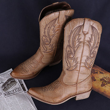 Botas ocidentais LOSTISY Cowgirl Totem