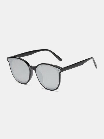 Unisex Cat-eye Large Frame Sunglasses