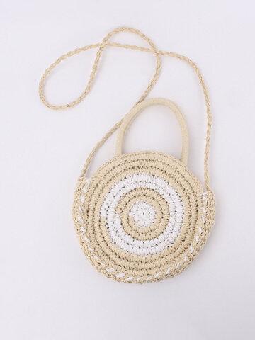 Women Summer Beach Straw Handbag