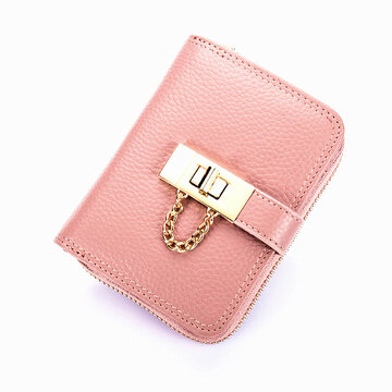 Genuine Leather 21 Card Slots Card Holder Purse Credit Card