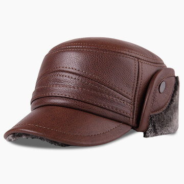 Winter Thick Warm Flat Hat