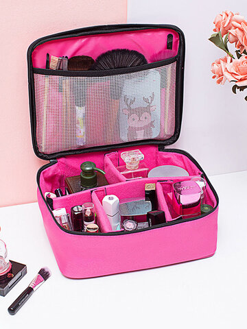 Women Large Capacity Makeup Brush Bag Comestic Bag