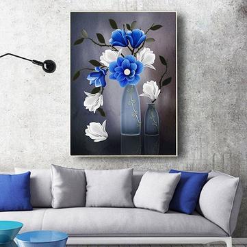 Decorazione della decorazione della decorazione della decorazione dell'amante del diamante del ricamo del fiore DIY 5D a forma speciale di 40 x 56cm