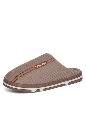 Men Cotton Cloth Home Slippers