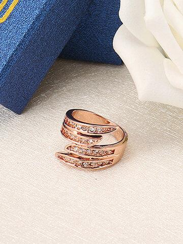 JASSY® Trendy Rose Gold Ring