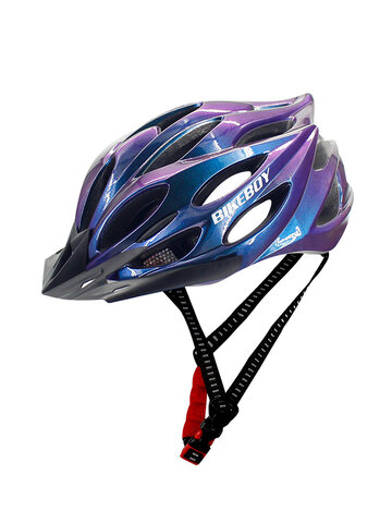Bicycle Helmet Riding Equipment Helmet with Tail Light Multi-Color Men'S Riding Helmet Integrated-Mold Lightweight Breathable Men Mountain Bike